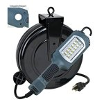 HOT-NEW-ITEM-LED-Cord-Reel-Shop-Garage-Work-Light-1000-Lumens-5030AHS-0