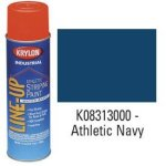 Krylon-K08313000-Krylon-Industrial-Line-Up-Wb-Athletic-Field-Striping-Paint-Athletic-Navy-Lot-of-12-0