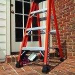 Louisville-Ladder-FS1412HD-375-Pound-Duty-Rating-Fiberglass-Step-Ladder-12-Foot-0-0