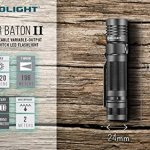 Olight-S30R-II-1020-Lumen-Baton-rechargeable-XM-L2-U3-LED-Flashlight-with-type-18650-3200mAh-Li-ion-battery-charging-base-with-two-EdisonBright-CR123A-Lithium-back-up-batteries-bundle-0-0