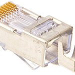 Platinum-Tools-100022-EZ-RJ45-Shielded-Cat5e6-External-Ground-50-Pack-0-0