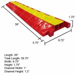 The-Falcon-Polyurethane-Cable-Protector-2-Channel-0-1
