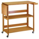 Winsome-Wood-Foldable-Kitchen-Cart-with-Knife-Block-Light-Oak-0