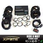Xprite-160W-8-x-20W-Hideaway-Strobe-Lights-Kit-Complete-Set-0-0
