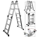 XtremepowerUS-Aluminum-Multi-Purpose-Folding-Ladder-125-W-Platform-0