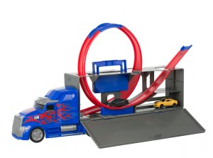 Transformers Optimus Prime Challenge Truck Open