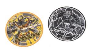 Bumblebee and Lockdown discs