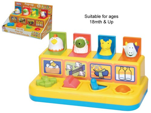 Pop-up Farmyard Friends 55002