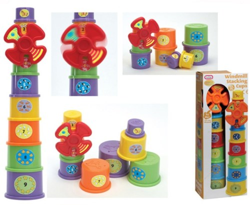 Windmill Stacking Cups 55307