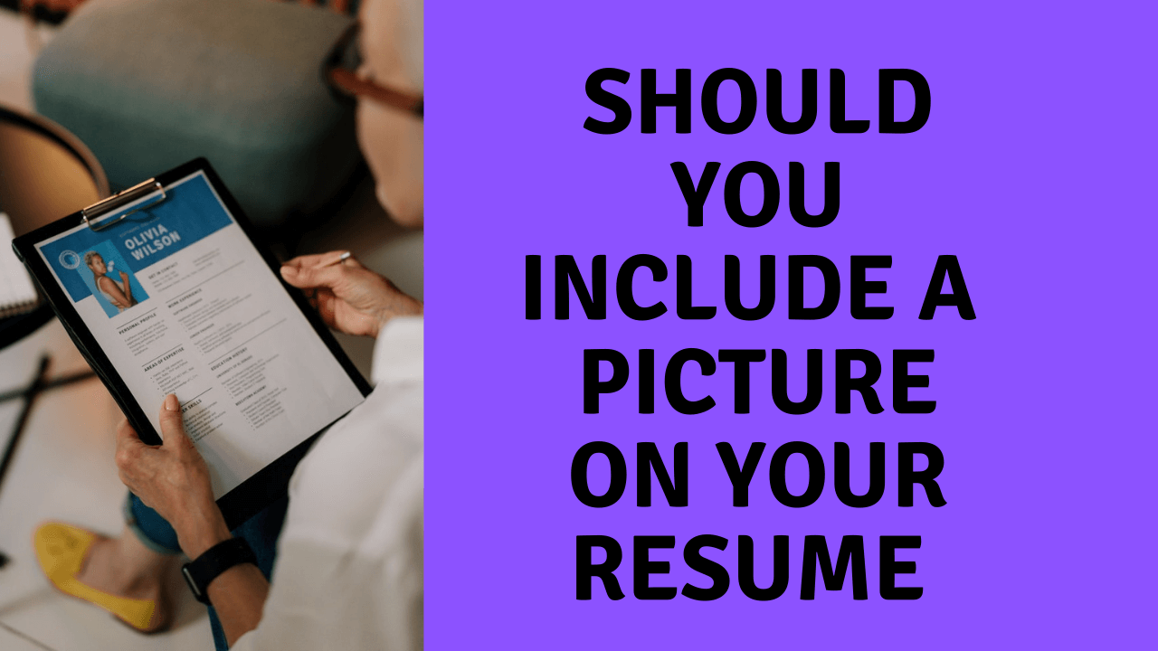 Should You Include a Picture on Your Resume