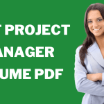 Project Manager Resume PDF