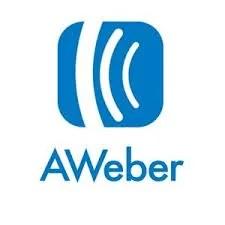Aweber logo email marketing tool