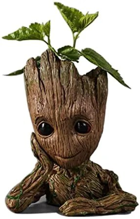 Guardians of The Galaxy Action Figures Baby Model Pen Holder Flowerpot