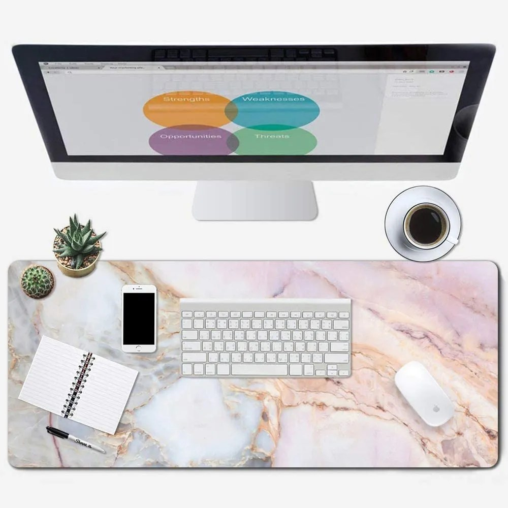 Large elegant Gaming XXL size Mouse Pad,