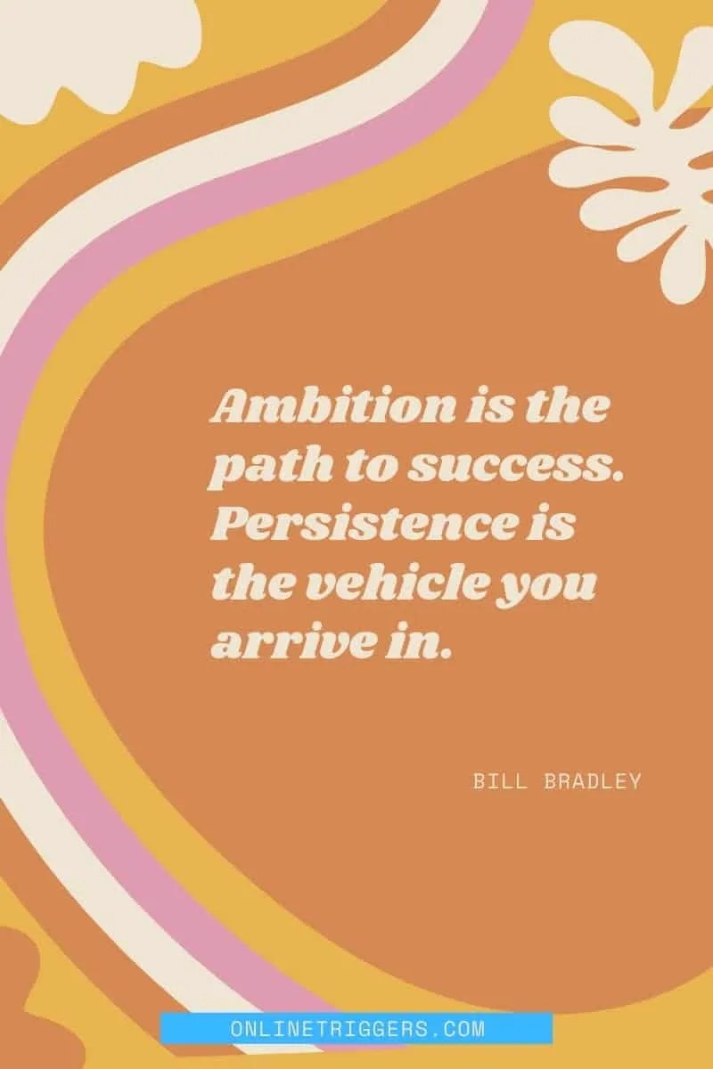 Powerful Business Quotes To Inspire Success & Productivity -Bill Bradley