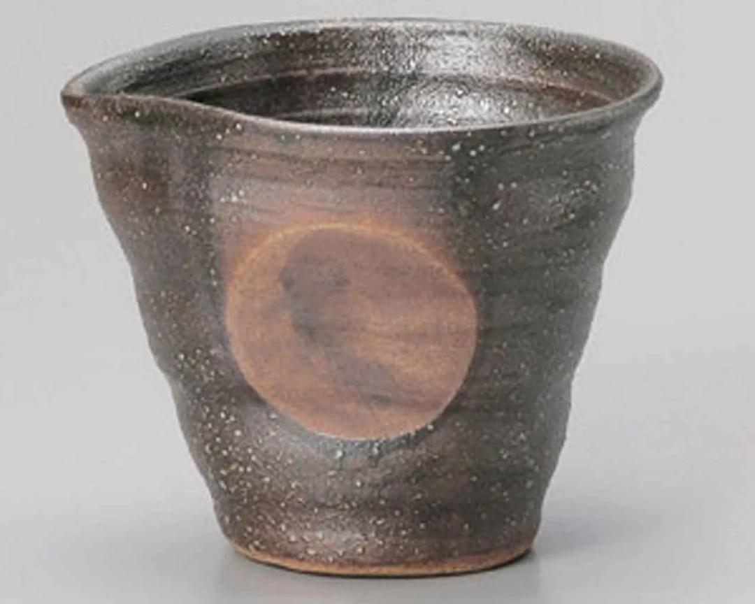 Bizen Marumon Sake Ceramic carafes Made in Japan