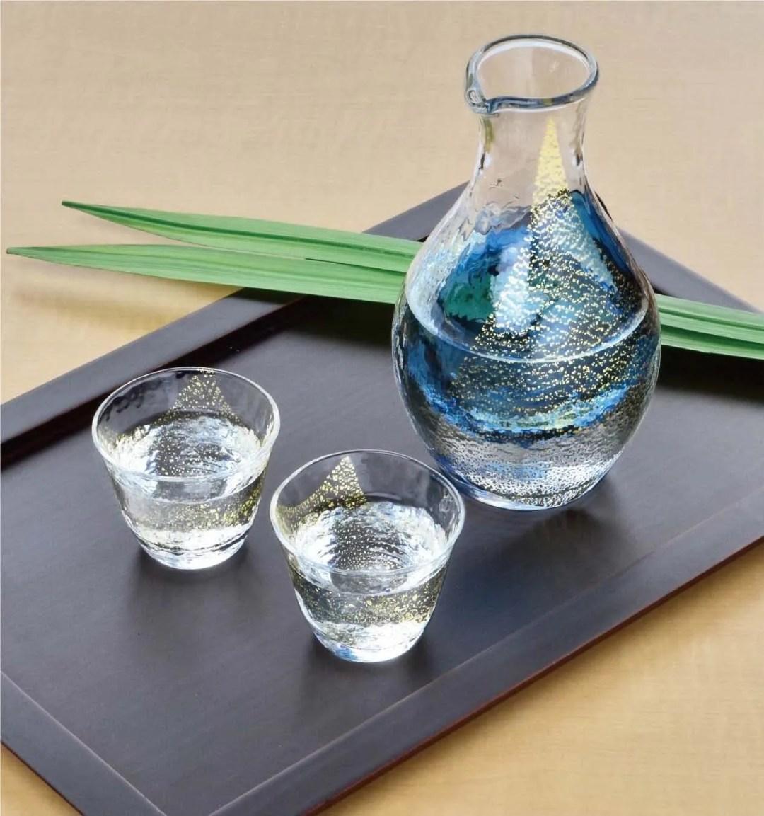 Japanese Cold Sake set - made in Japan
