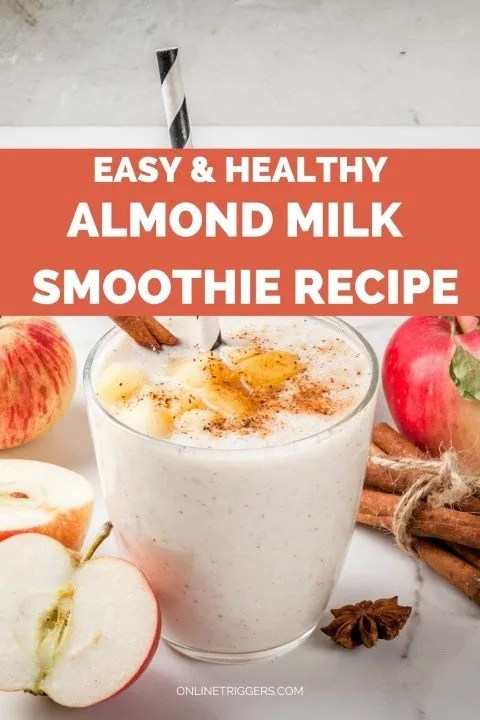 Easy & Healthy Almond milk Smoothie Recipe Without Banana