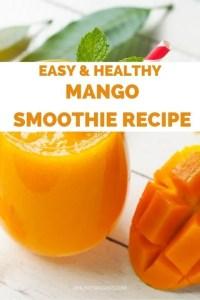 Easy & Healthy Vegan Mango Smoothie Recipe (Small)