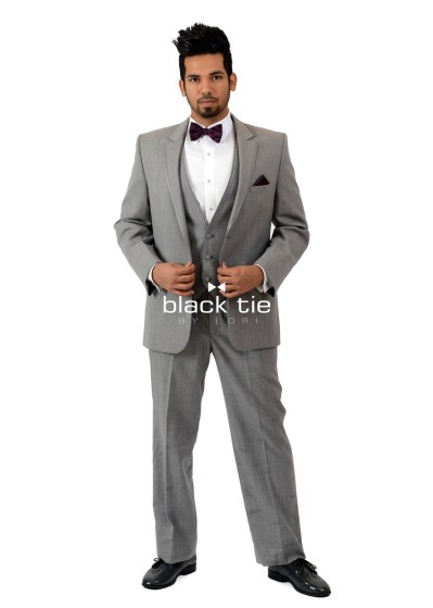 """Surratt"" Heather Grey Tuxedo"