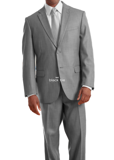 light grey business suit-jims