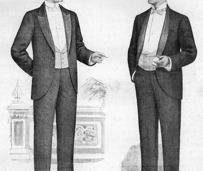 History of the Tuxedo-Garment