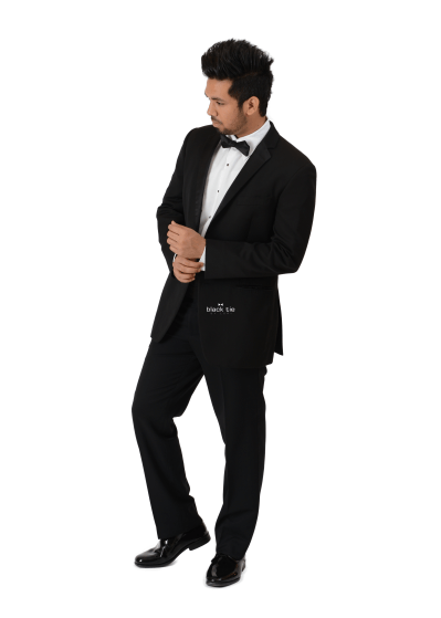 Ike Behar Parker Black Notch Tuxedo