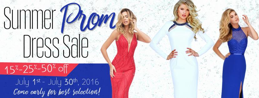 Summer Prom Dress Sale Underway!