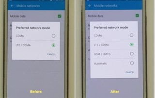 How to enable GSM Options