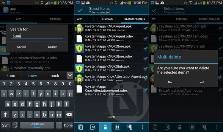 Safely root & disable Knox on Android 4 3 for Samsung Galaxy