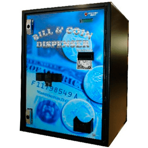 AC7702 Front Load Bill-Coin Dispenser