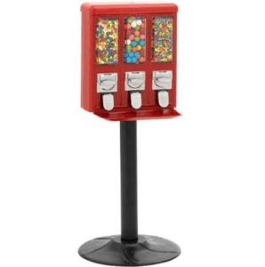 All-Metal Triple Play Vending Machine Heavy Duty Black Stand