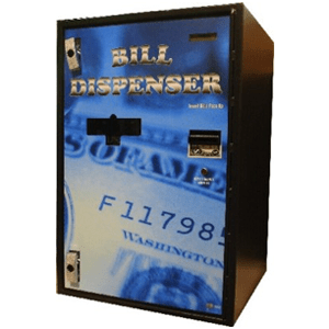 AC7812 Front Load-Dual Note Bill Dispenser
