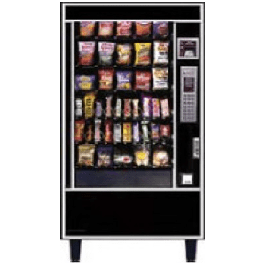 AP 4600 Glass Front Snack Automatic Products Vending Merchandiser