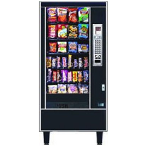 AP 6600 JR. Snack Automatic Products Glass Front Snack Vending Machine