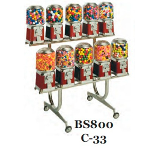 BS 800/C-33 Rack For Beaver Bulk Vending Machines