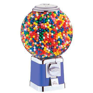 "Beaver 10"" Shatter-Proof Ball Globe Bulk Vending Machine"