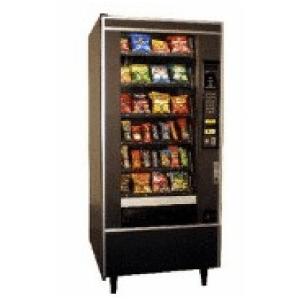 Crane 158 GF Snack Crane Merchandising Systems Vending Merchandiser