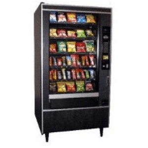 Crane 764 Snack W Chiller National Vendors Machine