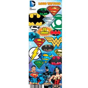 DC Comics Logo Tattoos - Tattoos Machine Refill