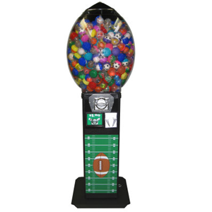 Football-A-Roo Bouncy Ball Vending Machines