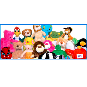 Jumbo Plush Licensed 75 Piece 12% Licensed Kit Mix
