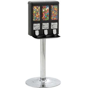 Platinum All-Metal Triple Play Bulk Machine-Chrome Stand