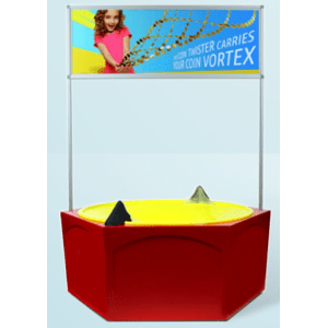 Coin Vortex Funnel Wishing Well-Charities-Fundraisers