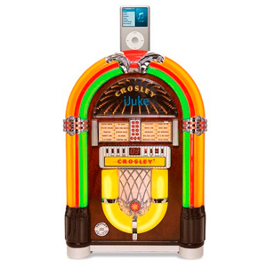 iJuke Premier Table Top Crosley Jukebox Model CR1702A-CH
