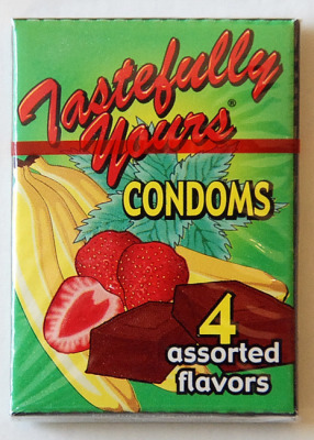 House Brand-Tastefully Yours-4 Water Based Flavored Condoms
