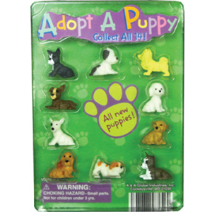 Adopt A Puppy Figurines Series 3 - 1.1 Inch Capsules