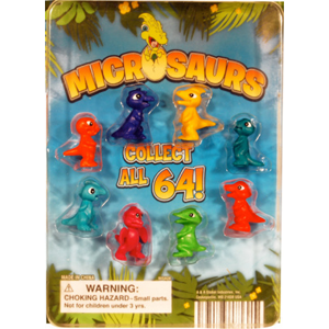 Microsaurs Figurines - 1.1 Inch Acorn-Shaped Capsules