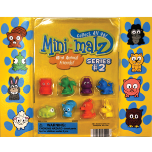 Mini-Malz Figurines, Series 2 - 2.2 Inch Capsules