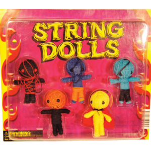 Voodoo Dolls - 2.2 Inch Acorn-Shaped Toy Capsules